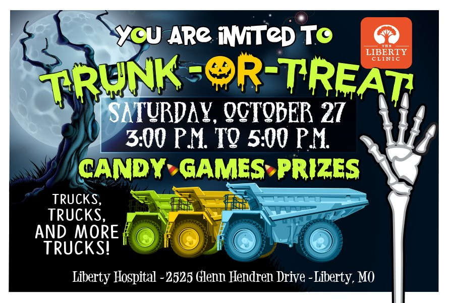 Trunk or Treat by The Liberty Clinic and Liberty Hospital