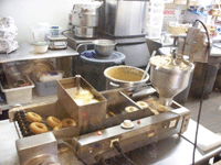 Louisburg Donut Making