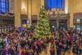 Union Station at Christmas