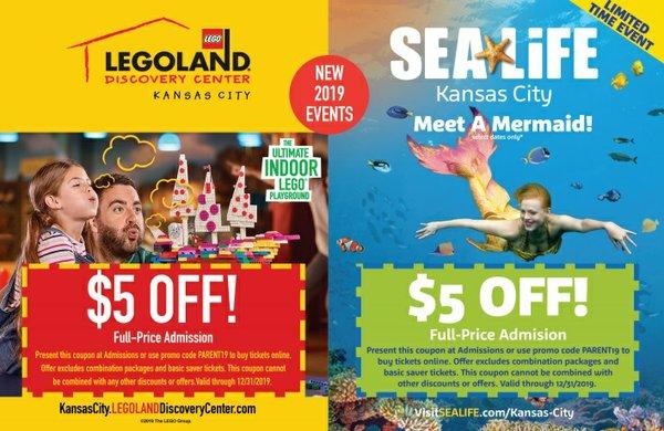 Sea Life Kansas City Coupon