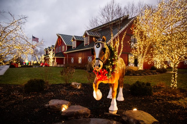 Warm Springs Ranch Christmas Lights 2020 Annual Holiday Lights Festivities at Warm Springs Ranch   KC