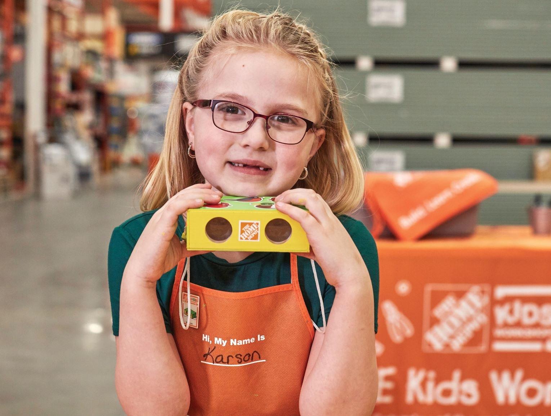 Free Home Depot Workshop Binoculars Kc Parent Magazine