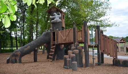 Brumble's Forest in Grandview, Missouri - one of our favorite parks.