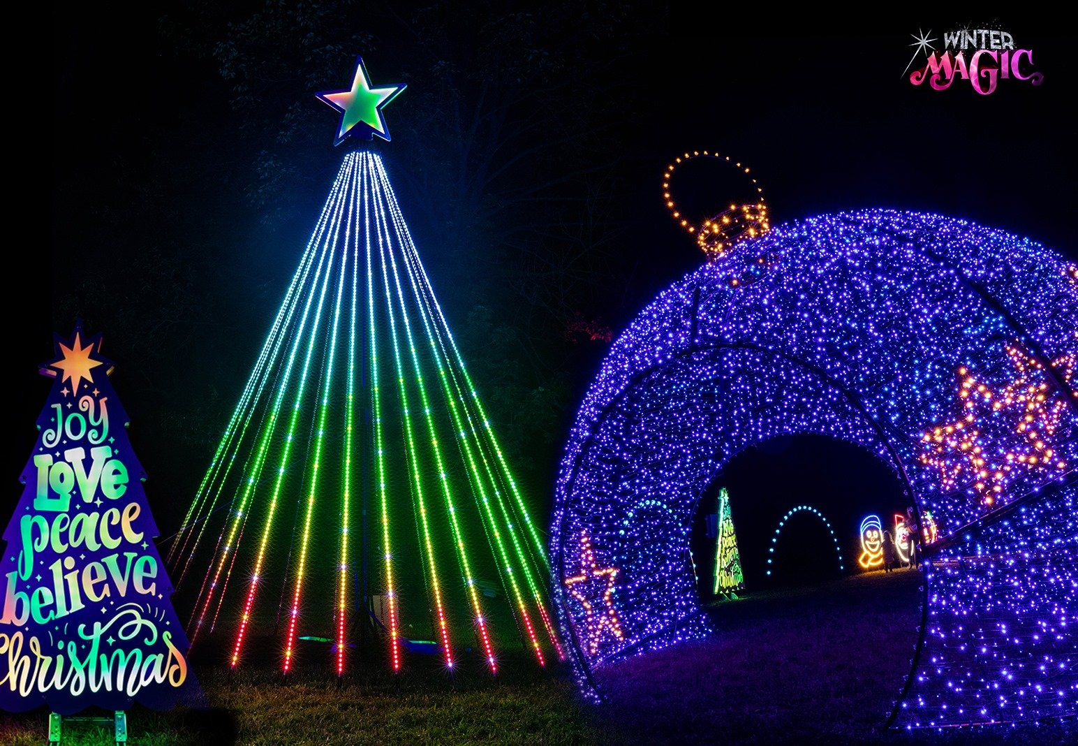 Christmas In The Park 2021 Longview Lake