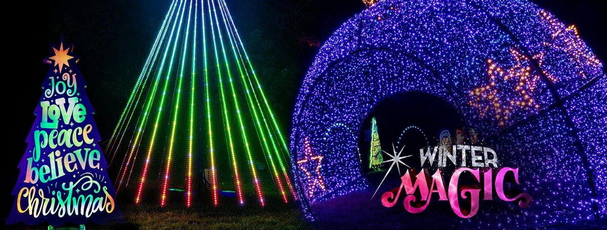 Kansas City Christmas Show Nov 2021 Winter Magic A Drive Thru Christmas Lights Experience Kc Parent Magazine