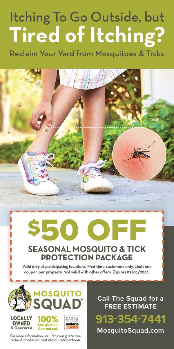 $50 Off Mosquito Squad