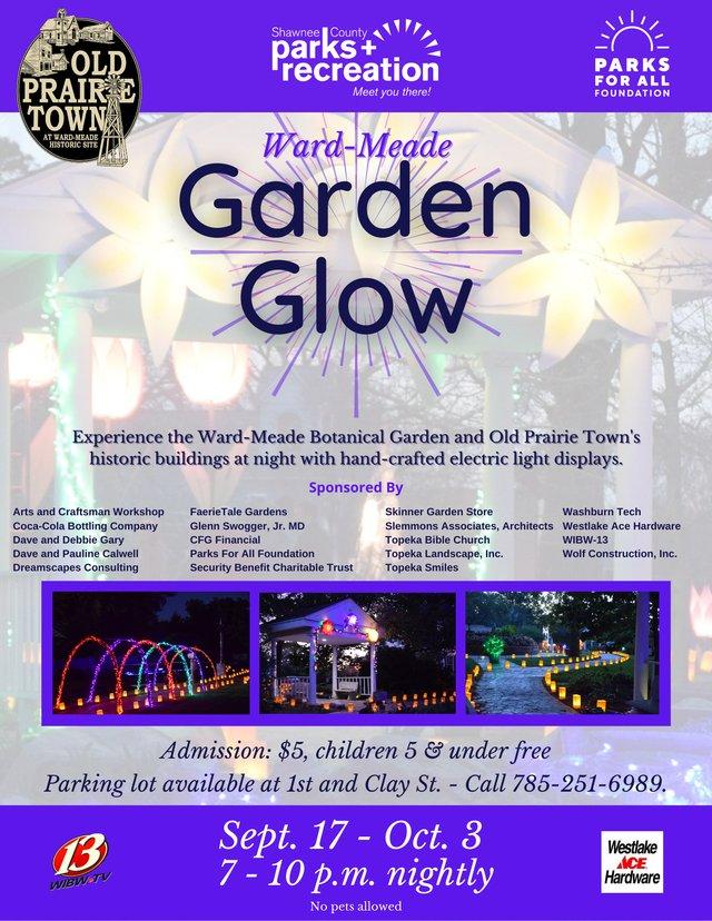 Blurred Garden Real Estate Flyer