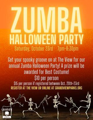 ZUMBA Halloween Party 2021